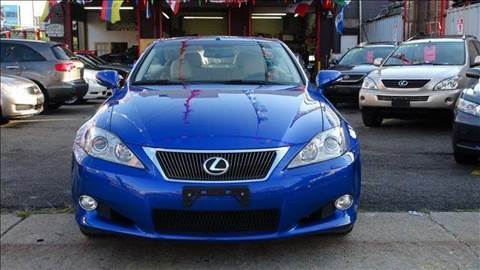 2010 Lexus IS 250C for sale at TJ AUTO in Brooklyn NY