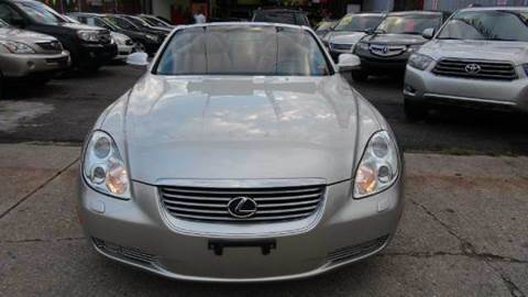 2002 Lexus SC 430 for sale at TJ AUTO in Brooklyn NY
