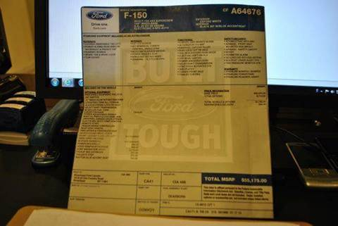 2012 Ford F-150 for sale at TJ AUTO in Brooklyn NY