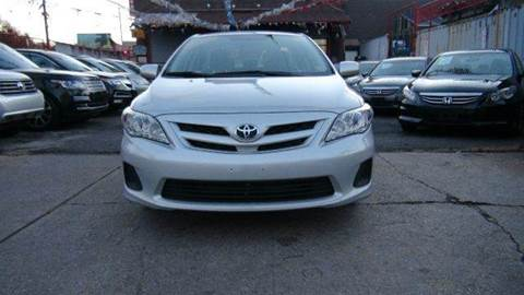 2013 Toyota Corolla for sale at TJ AUTO in Brooklyn NY
