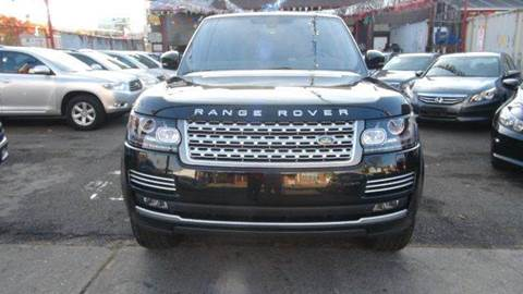 2014 Land Rover Range Rover for sale at TJ AUTO in Brooklyn NY