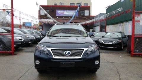 2010 Lexus RX 450h for sale at TJ AUTO in Brooklyn NY