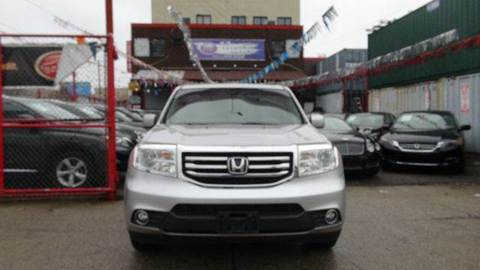 2012 Honda Pilot for sale at TJ AUTO in Brooklyn NY