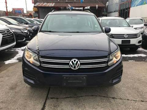 2015 Volkswagen Tiguan for sale at TJ AUTO in Brooklyn NY