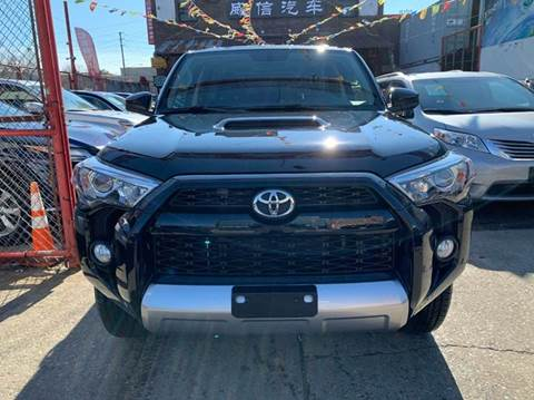 2018 Toyota 4Runner for sale at TJ AUTO in Brooklyn NY