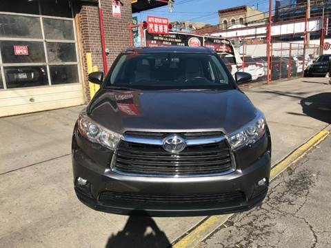 2015 Toyota Highlander for sale at TJ AUTO in Brooklyn NY