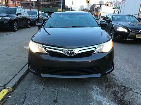 2013 Toyota Camry for sale at TJ AUTO in Brooklyn NY