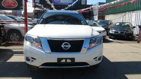 2013 Nissan Pathfinder for sale at TJ AUTO in Brooklyn NY