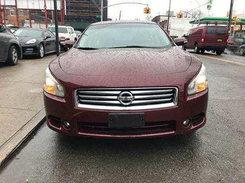 2013 Nissan Maxima for sale at TJ AUTO in Brooklyn NY