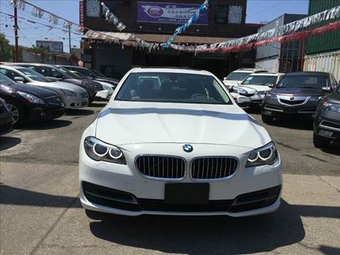 2014 BMW 5 Series for sale at TJ AUTO in Brooklyn NY