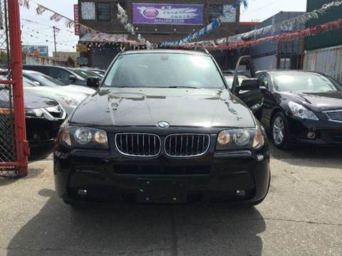 2006 BMW X3 for sale at TJ AUTO in Brooklyn NY