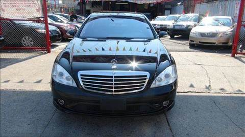2007 Mercedes-Benz S-Class for sale at TJ AUTO in Brooklyn NY