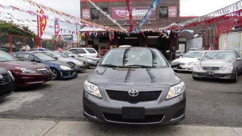 2009 Toyota Corolla for sale at TJ AUTO in Brooklyn NY