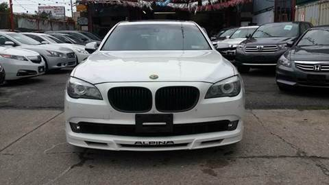 2009 BMW 7 Series for sale at TJ AUTO in Brooklyn NY