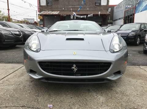 2010 Ferrari California for sale at TJ AUTO in Brooklyn NY