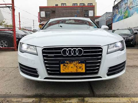 2013 Audi A7 for sale at TJ AUTO in Brooklyn NY