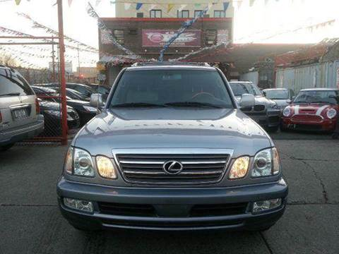2005 Lexus LX 470 for sale at TJ AUTO in Brooklyn NY