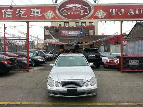 2006 Mercedes-Benz E-Class for sale at TJ AUTO in Brooklyn NY