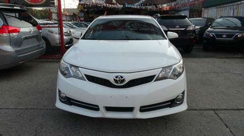 2012 Toyota Camry for sale at TJ AUTO in Brooklyn NY