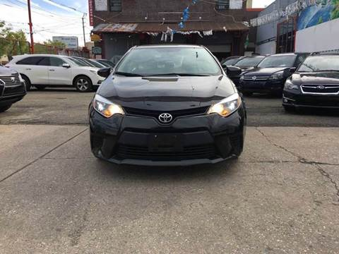 2014 Toyota Corolla for sale at TJ AUTO in Brooklyn NY