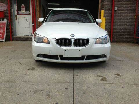 2007 BMW 5 Series for sale at TJ AUTO in Brooklyn NY