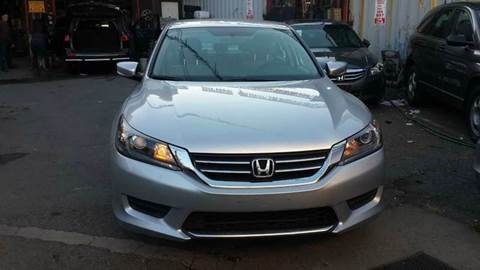 2013 Honda Accord for sale at TJ AUTO in Brooklyn NY