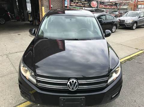 2014 Volkswagen Tiguan for sale at TJ AUTO in Brooklyn NY