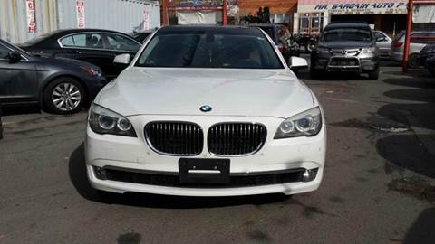2010 BMW 7 Series for sale at TJ AUTO in Brooklyn NY