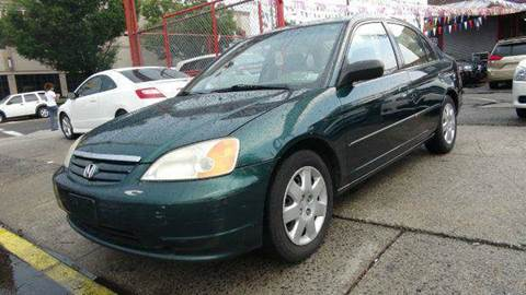 2001 Honda Civic for sale at TJ AUTO in Brooklyn NY