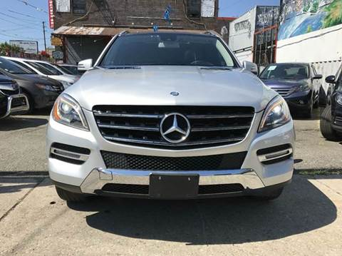 2014 Mercedes-Benz M-Class for sale at TJ AUTO in Brooklyn NY