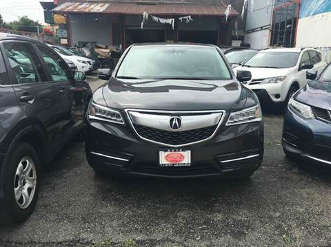 2016 Acura MDX for sale at TJ AUTO in Brooklyn NY