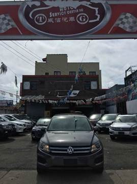 2012 Volkswagen Tiguan for sale at TJ AUTO in Brooklyn NY