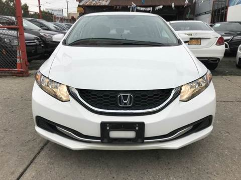 2014 Honda Civic for sale at TJ AUTO in Brooklyn NY
