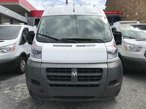 2018 RAM ProMaster Cargo for sale at TJ AUTO in Brooklyn NY