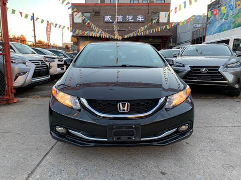 2013 Honda Civic for sale at TJ AUTO in Brooklyn NY