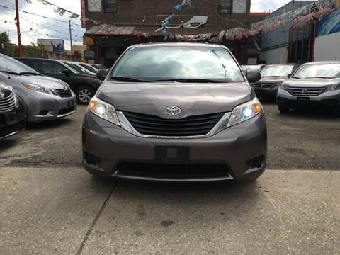 2011 Toyota Sienna for sale at TJ AUTO in Brooklyn NY