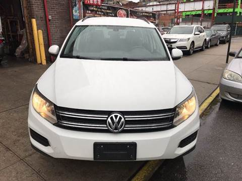 2016 Volkswagen Tiguan for sale at TJ AUTO in Brooklyn NY