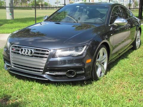 2015 Audi S7 for sale in Pompano Beach, FL