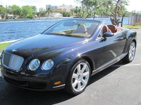 2007 Bentley Continental GTC for sale in Pompano Beach, FL