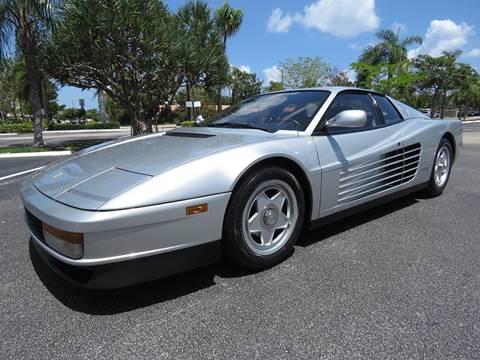 Ferrari Testarossa For Sale In Mount Holly Nj Carsforsale