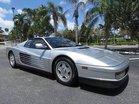 1988 Ferrari Testarossa For Sale In Ohio Carsforsale