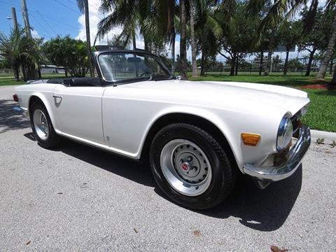 1973 Triumph TR6 for sale at Progressive Motors in Pompano Beach FL