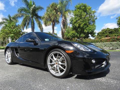 2015 Porsche Cayman for sale in Pompano Beach, FL