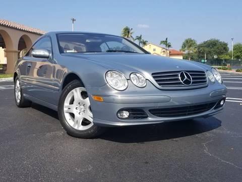 2005 Mercedes-Benz CL-Class for sale in Pompano Beach, FL