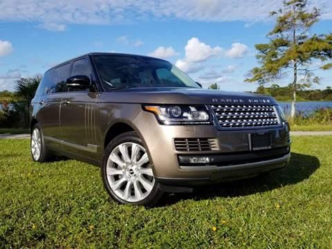 2014 Land Rover Range Rover for sale at Progressive Motors in Pompano Beach FL