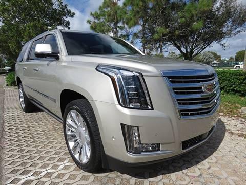 2017 Cadillac Escalade ESV for sale at Progressive Motors in Pompano Beach FL