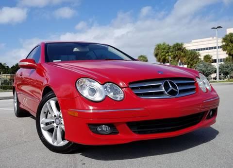 2008 Mercedes-Benz CLK for sale at Progressive Motors in Pompano Beach FL