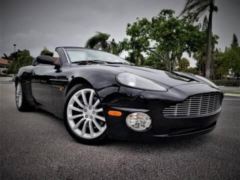 2003 Aston Martin V12 Vanquish for sale at Progressive Motors in Pompano Beach FL