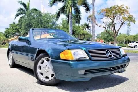 1994 Mercedes-Benz SL-Class for sale at Progressive Motors in Pompano Beach FL