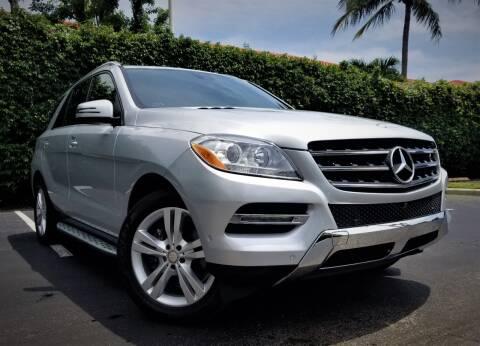 2015 Mercedes-Benz M-Class for sale at Progressive Motors in Pompano Beach FL